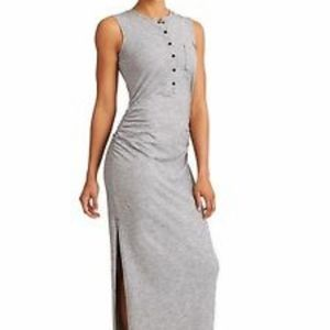 Athleta Henley Maxi Dress